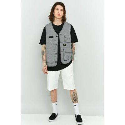 Shore Leave Off-White Fatigue Shorts, IVORY