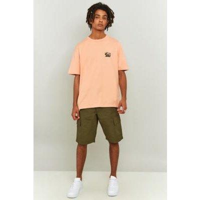 Shore Leave Titus Khaki Cargo Shorts, OLIVE