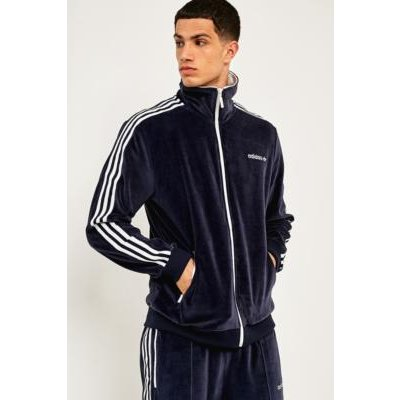 adidas Legend Ink Velour Track Top, NAVY