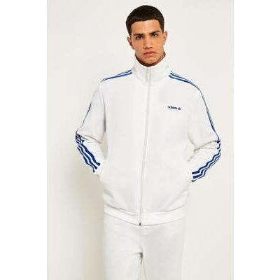 adidas Originals 70 Osaka Beckenbauer White and Blue Track Top, WHITE