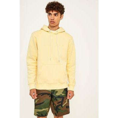 Soulland Wallace Yellow Front Pocket Hoodie, YELLOW