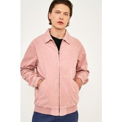 Stussy Bleached Out Pink Corduroy Jacket, PINK