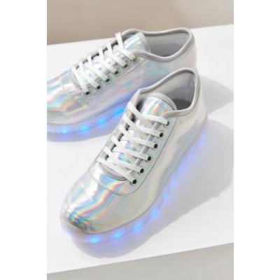 Amy Light Up Trainers, BLUE