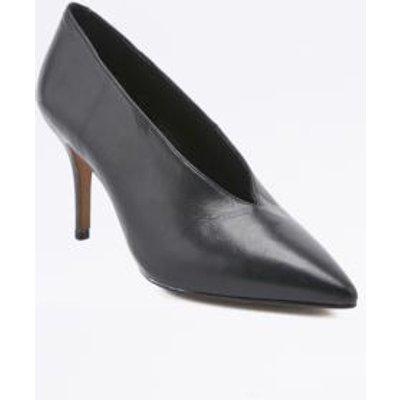 Kylie Vintage '80s Black Court Shoes, BLACK