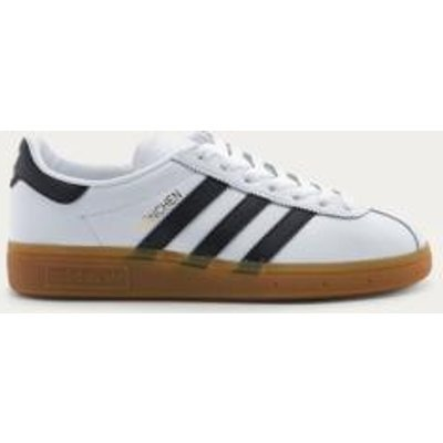 adidas Originals Munchen White Gum Sole Trainers, WHITE
