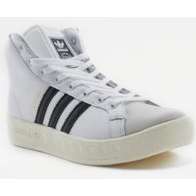adidas Originals Allround White High Top Trainers, WHITE