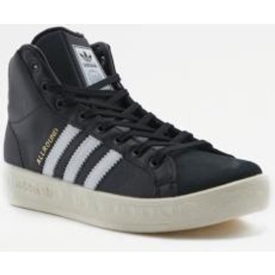 adidas Originals Allround Black High Top Trainers, BLACK