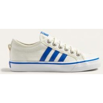 adidas Originals Nizza Low Trainers, IVORY