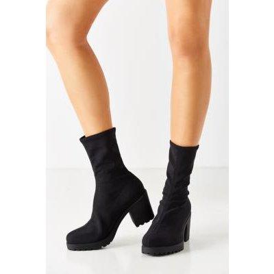 Vagabond Stretch Grace Black Ankle Boots, BLACK