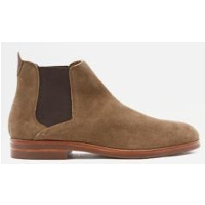 H by Hudson Tonti Brown Suede Boots, BROWN
