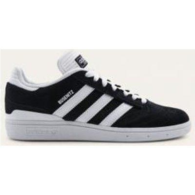 adidas Busenitz Core Black and White Trainers, BLACK