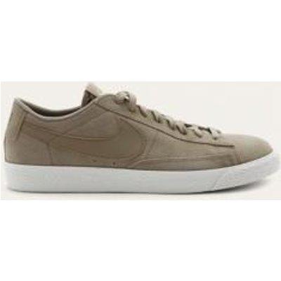 Nike Blazer Tan Low Suede Trainers, BEIGE