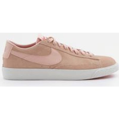 Nike Blazer Pink Low Suede Trainers, PINK