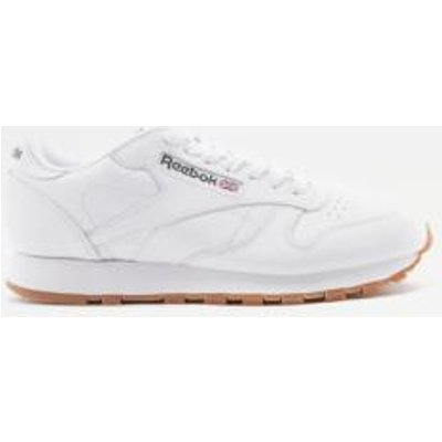 Reebok Classic White Leather Trainers, IVORY