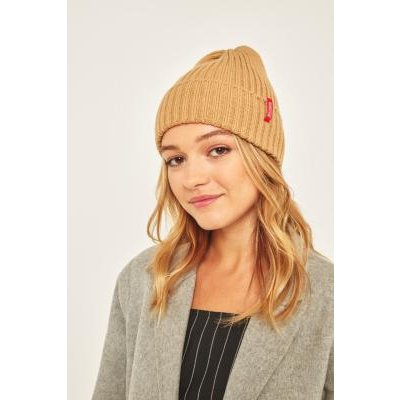 Reason Side Tab Beanie, TAN
