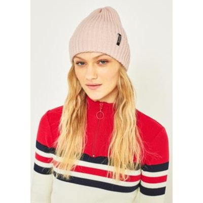 Reason Side Tab Beanie, PINK