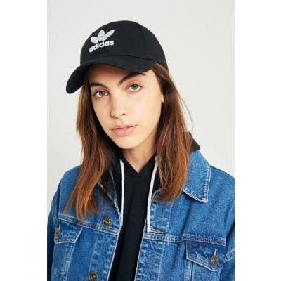 adidas Originals Trefoil Baseball Hat, BLACK