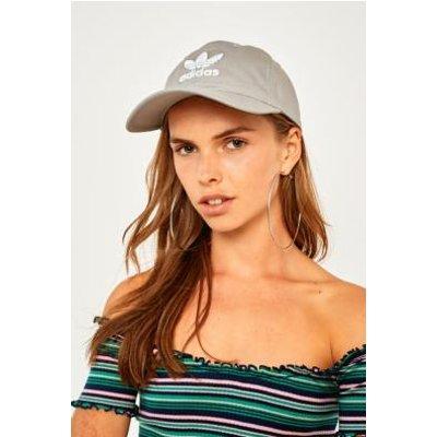 adidas Originals Trefoil Baseball Hat, GREY