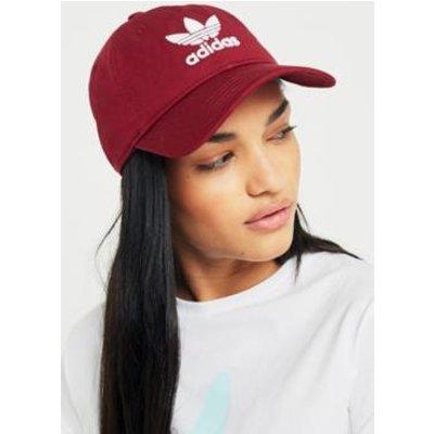 adidas Originals Trefoil Baseball Hat, MAROON