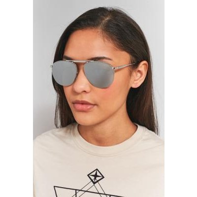 Le Specs Liberation Aviator Sunglasses, SILVER