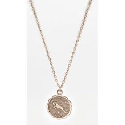 Zodiac Pendant Necklace, GREY