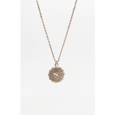 Zodiac Pendant Necklace, IVORY