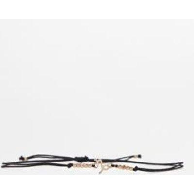 Beaded Zodiac Bracelet, BLACK