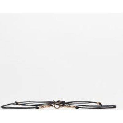 Beaded Zodiac Bracelet, DARK GREY