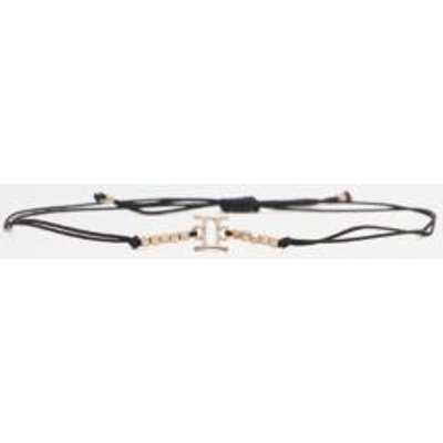 Beaded Zodiac Bracelet, LIGHT GREY