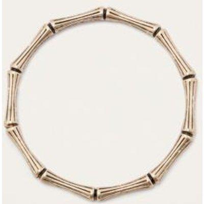 Bamboo Bangle Bracelet, GOLD