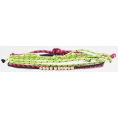 Sporty Rope Bracelet 3-Pack, ASSORTED