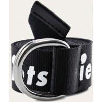 iets frans… Slogan D-Ring Belt, BLACK