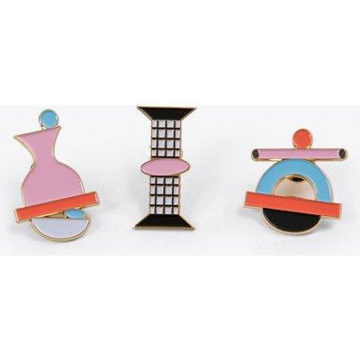 Pins, Set of 3