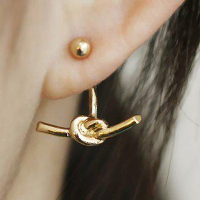 Knot Design Earrings