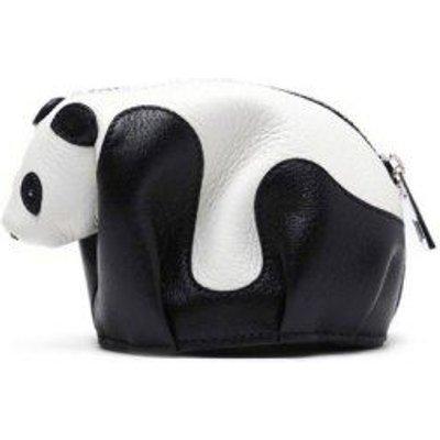 Zipper Color Block Panda Shape Crossbody Bag