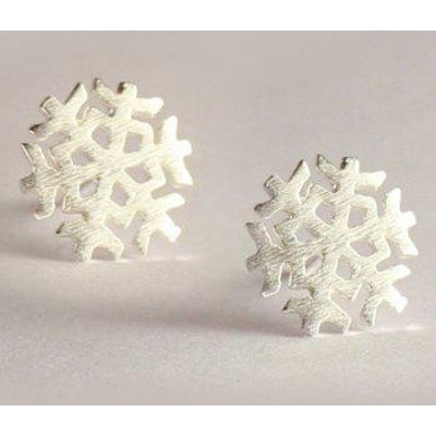 Adorn Snowflake Christmas Earrings