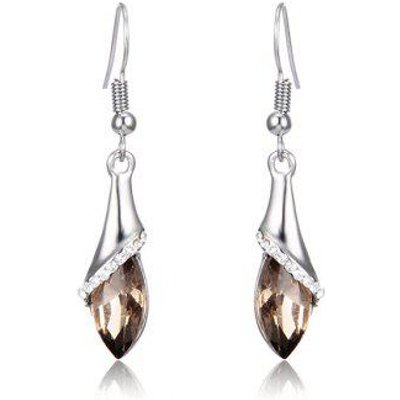 Faux Crystal Dangle Earrings
