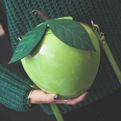 Fruit Shaped Zip Around Crossbody Bag