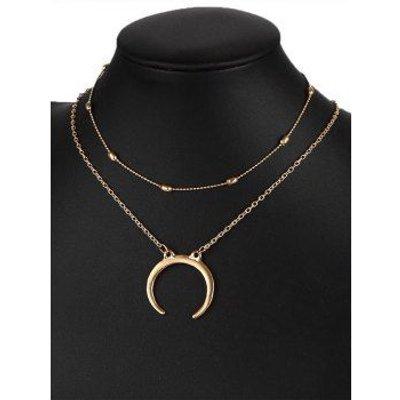 Gypsy Moon Pendant Necklace Set