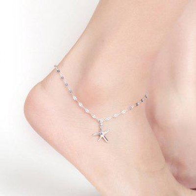 Cute Charm Starfish Anklet