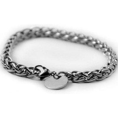 Round Link Stainless Steel Bracelet