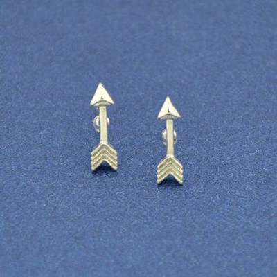 Small Arrow Stud Earrings