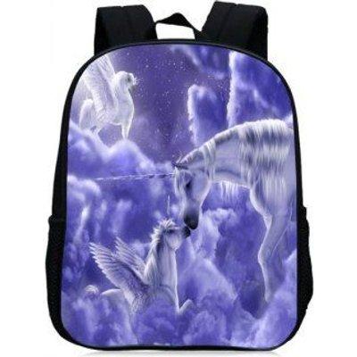 Unicorn Printed School Backpack