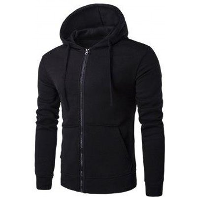Hooded Fleece Pouch Pocket Hoodie