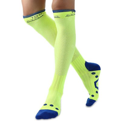 Pair of TOP CYCLING Unisex Elastic Compression Cycling Socks