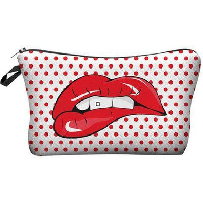 Sexy Mouth Cosmetic Makeup Bag