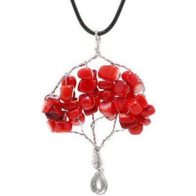 Handmade Life Tree Pendant Necklace