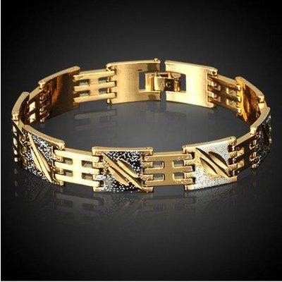 Vintage Alloy Chain Bracelet