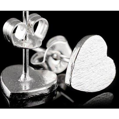 Mini Heart Shape Stud Earrings