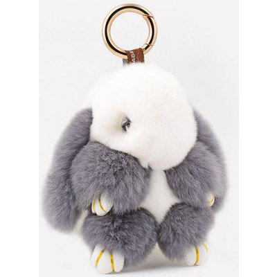 Rabbit Soft Plush Pendant Keyring Bag Keychain